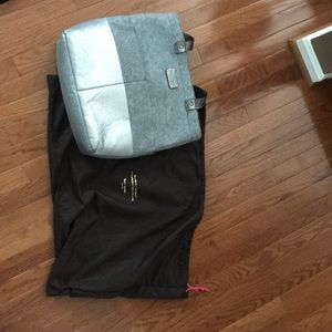 Kate spade silver and wool purse